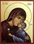 St. Anna and the Theotokos