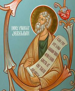 The Holy Prophet Jeremiah